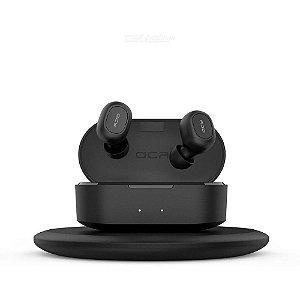 Fone Qcy T2s Tws Bluetooth 5.0 Com Carregamento sem Fio