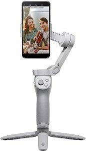 DJI OM 4 – Estabilizador portátil de 3 eixos para smartphone com tripé de aderência Vlog YouTube Live Video para iPhone Android