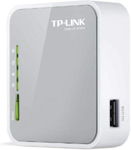 Roteador 3G/4G Sem Fio TP-Link TL-MR3020 150Mbps | 1 Antena, 1 WAN, 4 LAN | Wireless N | Bivolt 0873