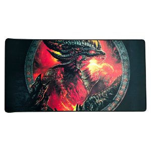 Mousepad Gamer Extra Grande Large Mouse Teclado 70x35