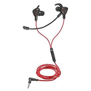 Fone de Ouvido Gamer Intra Auricular Trust GXT 408 Cobra Multiplataform Gaming Earphones, com Microfone