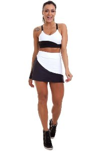 Shorts Saia Adriana - M - Garotafit
