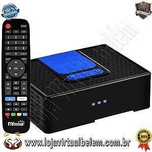 Mibosat M1 Full HD com Wi-Fi/USB/HDMI Bivolt - Preto/Azul