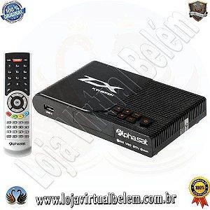 Receptor Alphasat TX KVM HD