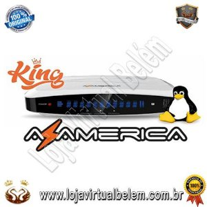 Receptor Az-America King Ultra HD 4K Acm Wifi Hdmi