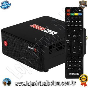 Cinebox Supremo Z acm 4K / Iks / SKS / Iptv / Vod / Wifi Interno