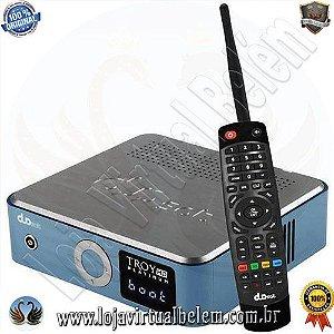 Duosat Troy HD Platinum ACM com Wi-Fi/HDMI/USB Bivolt