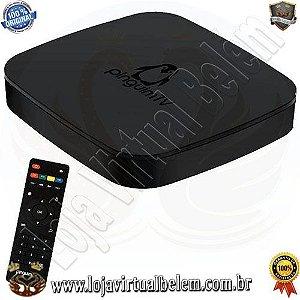 Receptor IPTV Pinguim TV 4K Android 6.0 Bivolt