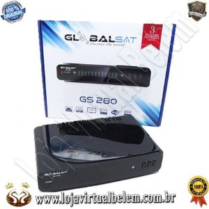 Globalsat GS-280 Iptv / Wi-Fi / 3 Tunner