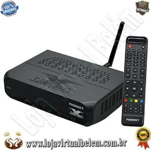 Receptor Freesky Triplo X HD Wi-Fi - ACM - IKS/SKS