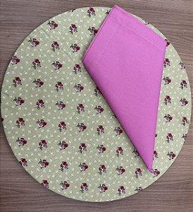 Kit 8 Lugares Pink Floral