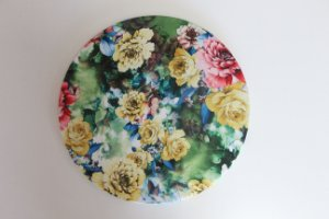 Capa de Sousplat - Floral Amarelo