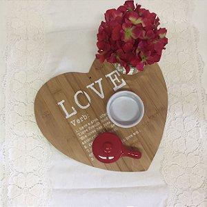 Tabua Coração - Love
