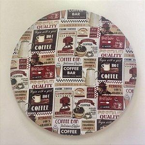 Capa para Sousplat Café