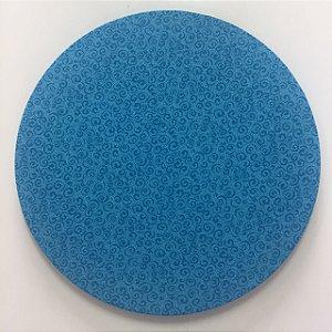 Capa de Sousplat Azul Caracóis