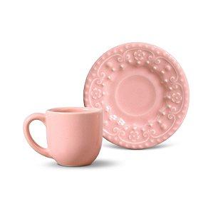 Xícara de Café Esparta Rosa