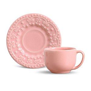 Xícara de Chá Esparta Rosa