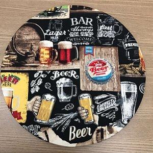 Capa Sousplat - Estampa Bar