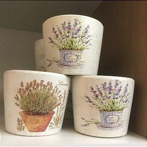 Vaso em Cerâmica Lavanda