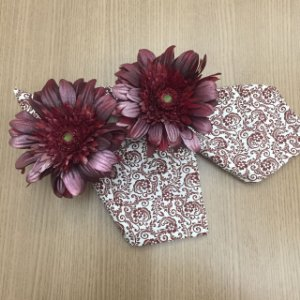 Guardanapo Floral Marsala