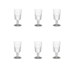 Jogo de Taça para vinho Olimpo 205ml - Transparente