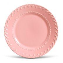 Prato raso cordonê rosa