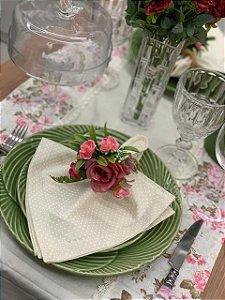 Trilho de Mesa Patchwork Floral