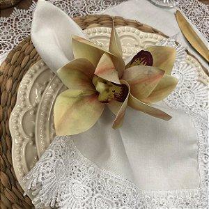 Porta Guardanapo Orquídeas Outonal
