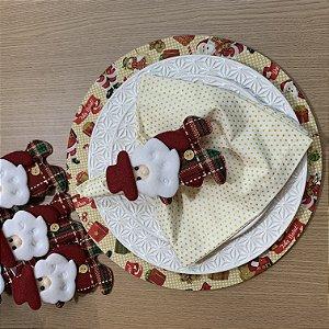 Kit 6 Lugares Papai Noel