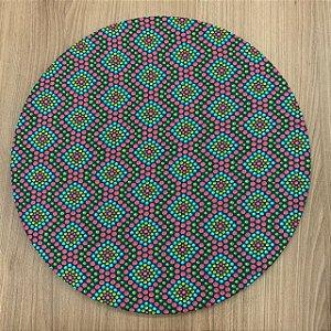 Capa Para Sousplat Mosaico