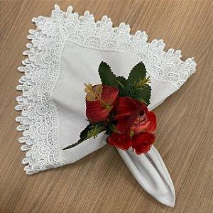 Porta Buque Floral Vermelho