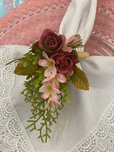 Porta Guardanapo Buque Floral