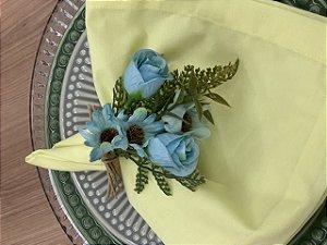 Porta Guardanapo Buque Azul Primavera