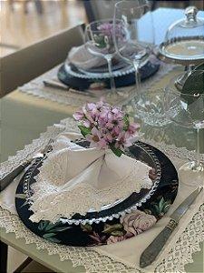 Porta Guardanapo Astromelia - cor lavanda