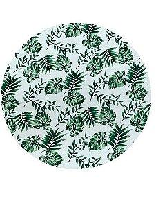 Capa para vestir Sousplat- Costela Folhas