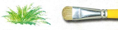 Pincel 151 Lixado / Filbert Cerda Branca (Pinctore/TIGRE)