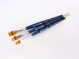 Pincel 89 Desfiado (Rake) Quadrado Sintético Mesclado (Trimay/TIGRE)