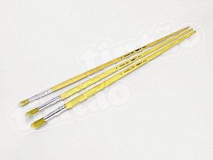 Pincel 325 Redondo Sintético Dourado (Marsel/TIGRE)