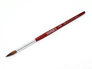 Pincel 165 Pelo de Orelha de Boi Redondo Curto (TIGRE)