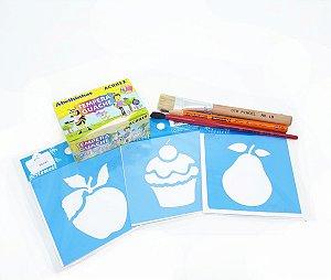 Kit de Pintura Dia das Crianças 01 - Faça você mesmo!