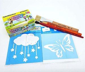 Kit de Pintura Dia das Crianças 02 - Faça você mesmo!