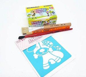 Kit de Pintura Dia das Crianças 03 - Faça você mesmo!