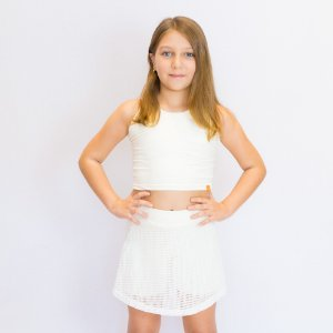 Short-saia Tina off white