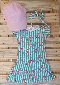 Vestido Nina Flamingo