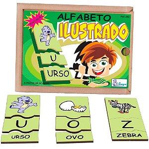 ALFABETO ILUSTRADO EM PORTUGUÊS