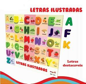 LETRAS ILUSTRADAS
