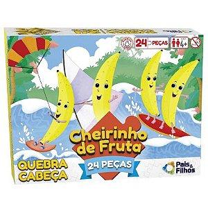 QUEBRA CABEÇA COM CHEIRO DE BANANA