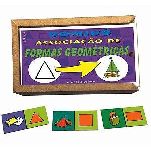DOMINÓ ASSOCIAÇÃO DE FORMAS GEOMÉTRICAS