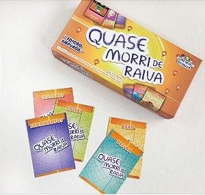 QUASE MORRI DE RAIVA - EDIÇÃO AMPLIADA