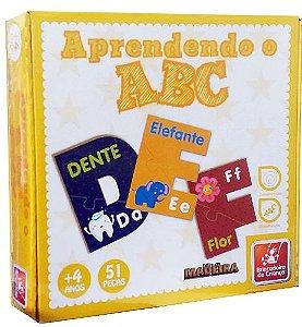 APRENDENDO O ABC